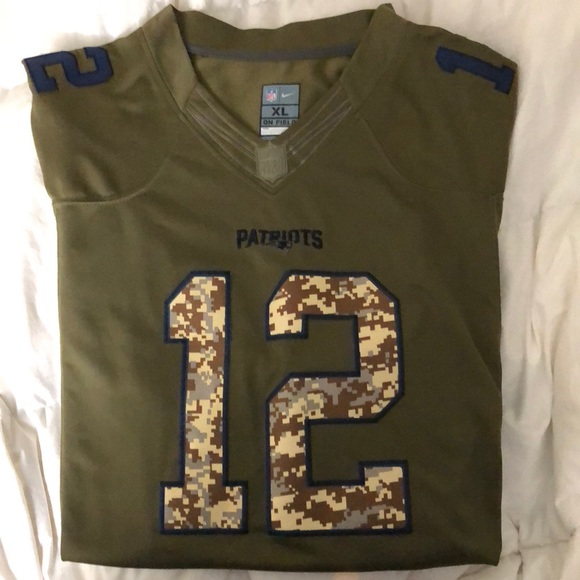 New England Patriots Salute to Service Jersey 1edb02ad0